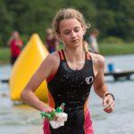 Julia zajęła 4. miejsce w kat K10-11 EvoTriathlon Chmielno